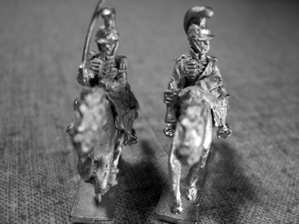 Royalist Cavalry (Dragoons w/helmet command)