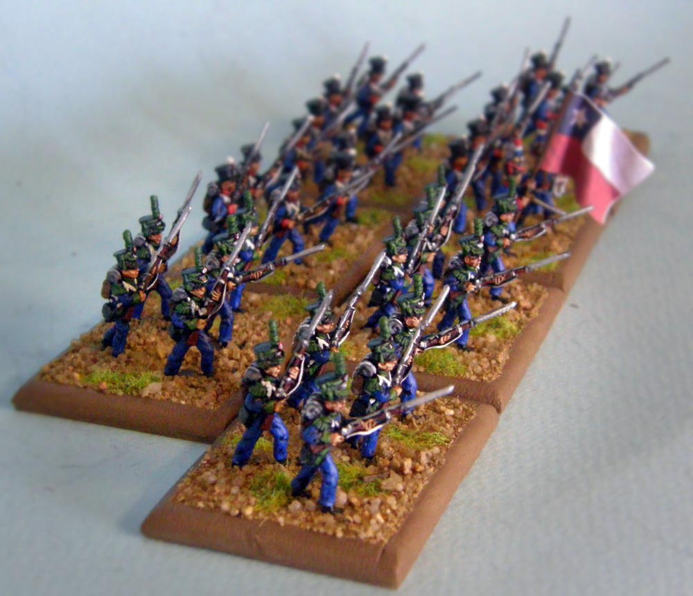 Chile Infantry (Cazadores) - Click Image to Close