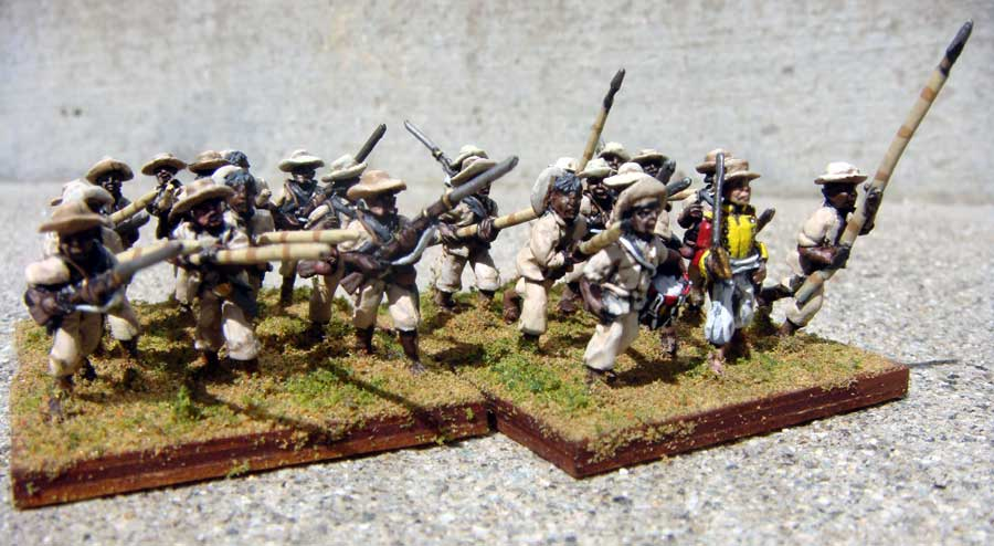 Llanero/Peasant Infantry (Mixed Weapons)