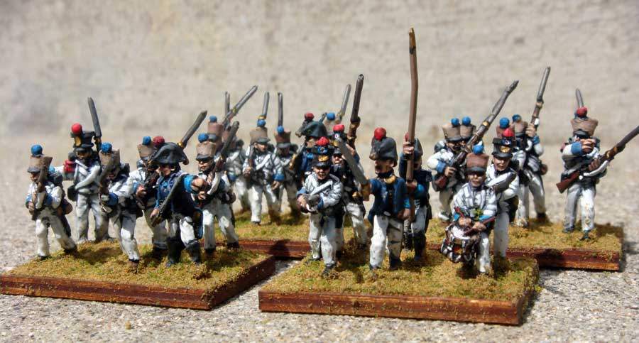 Royalist Infantry (Command w/NCOs) - Click Image to Close